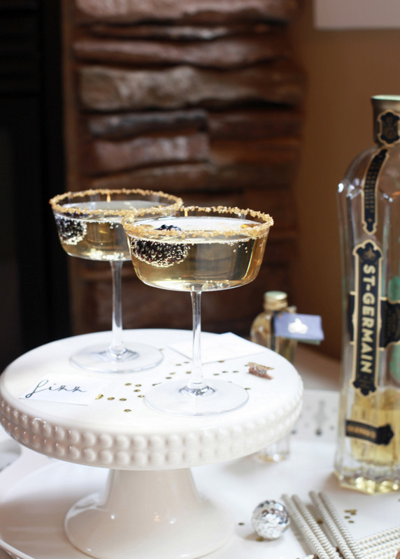 Posh Champagne Cocktail - PLD