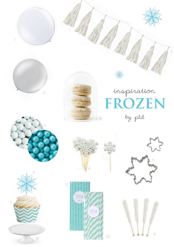 Frozen Birthday Inspiration