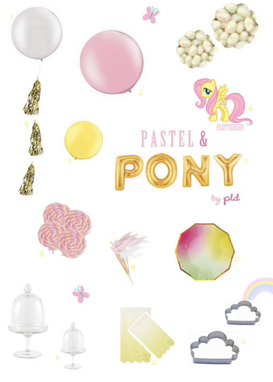 My Little Pony Inspiration | Posh Little Designs