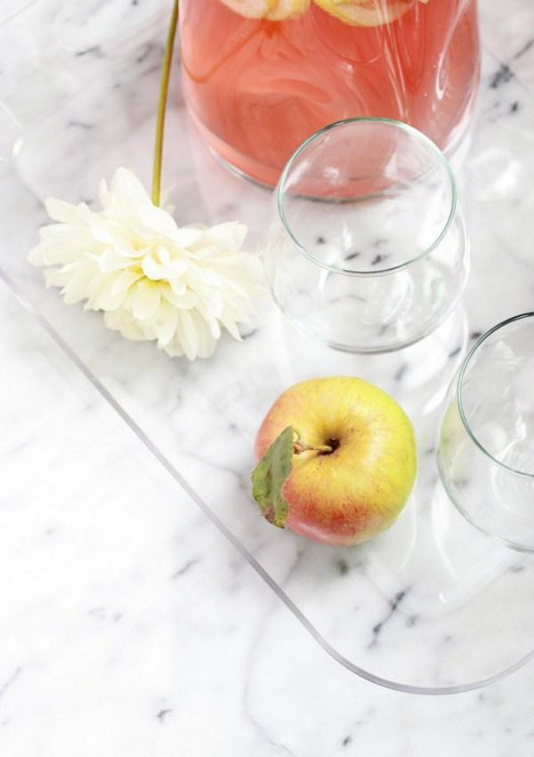 Apple Rosé Sangria