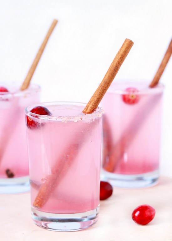 Spiced Cranberry Paloma - Posh Little Designs