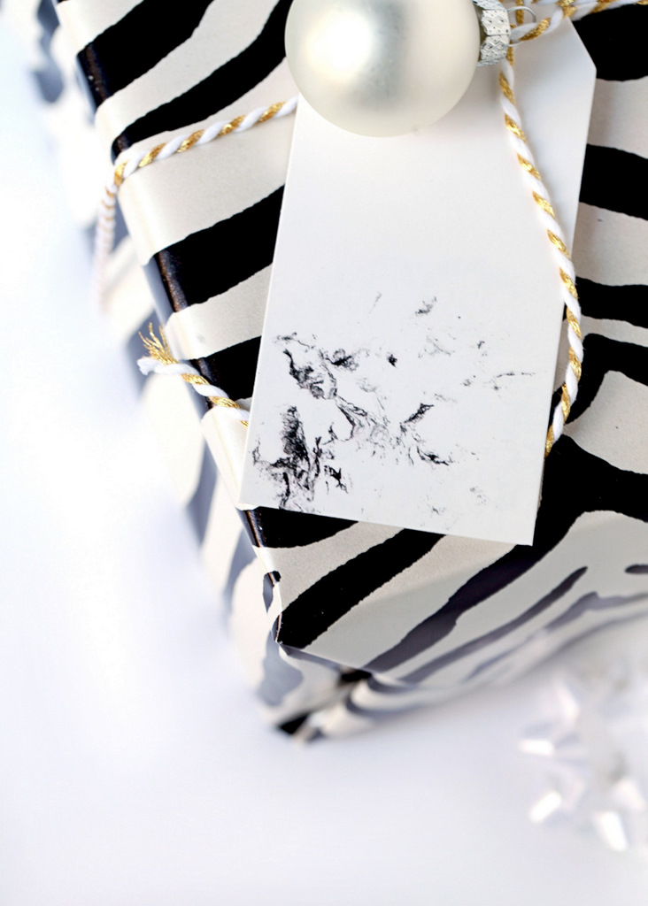 DIY Marble Gift Tags