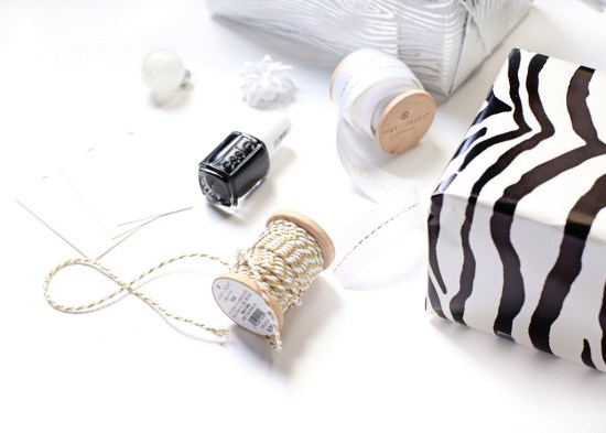 DIY Marble Gift Tags | Posh Little Designs