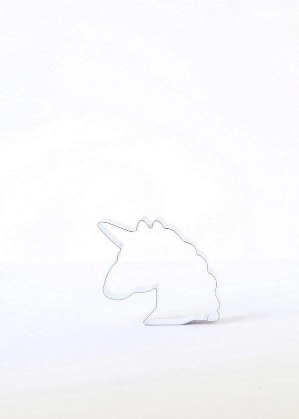 emoji unicorn cookie cutter