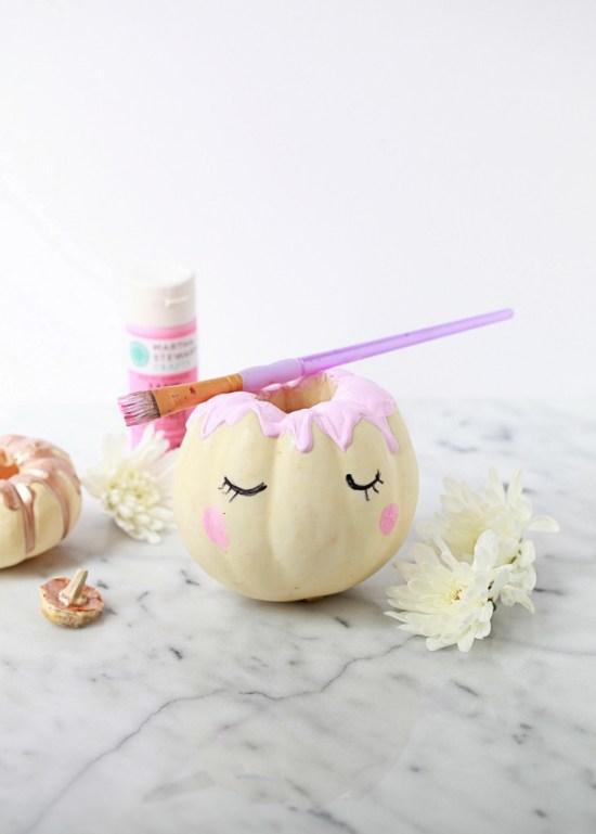 decorative unicorn pumpkins