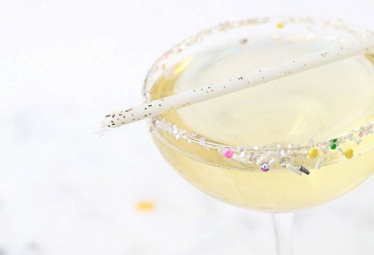 Champagne Birthday Cocktails