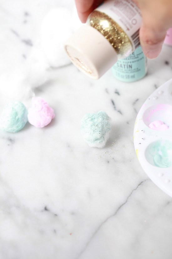 Cotton Candy Easter Eggs | Posh Little Designs