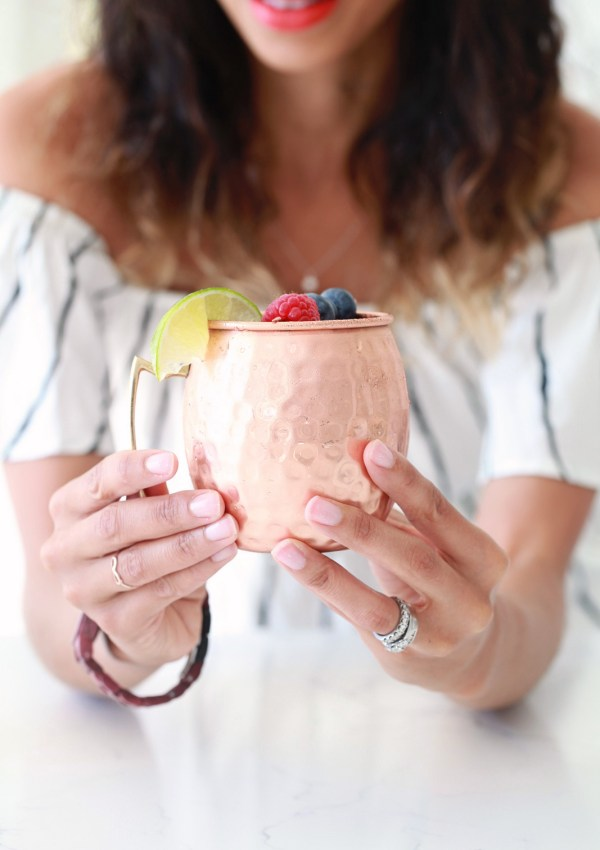 The Best Berry Moscow Mule