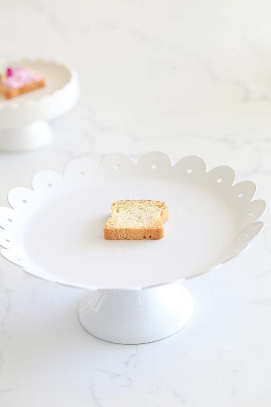 Unicorn toast, party food