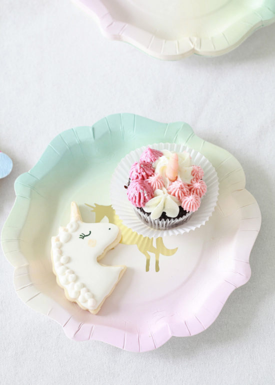 Unicorn Birthday, Party, Sugar Cookies