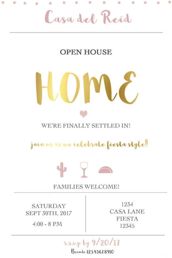 Home, Invites