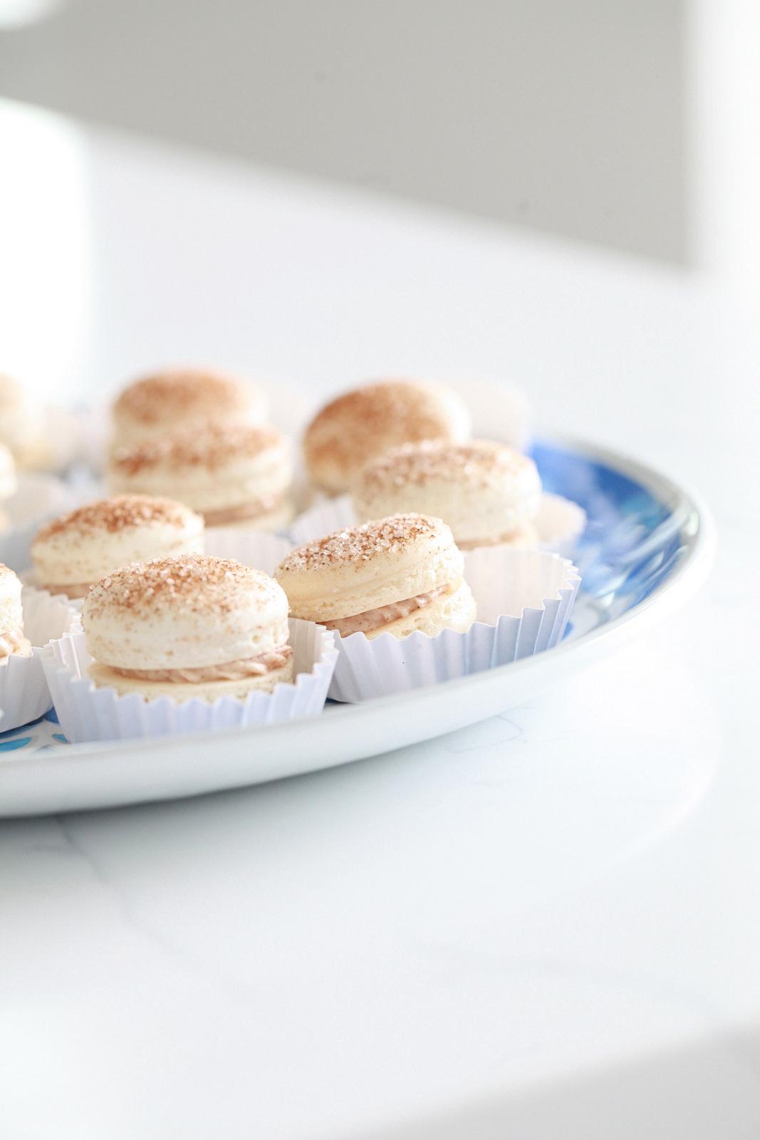 Churro, French Macarons, Recipe