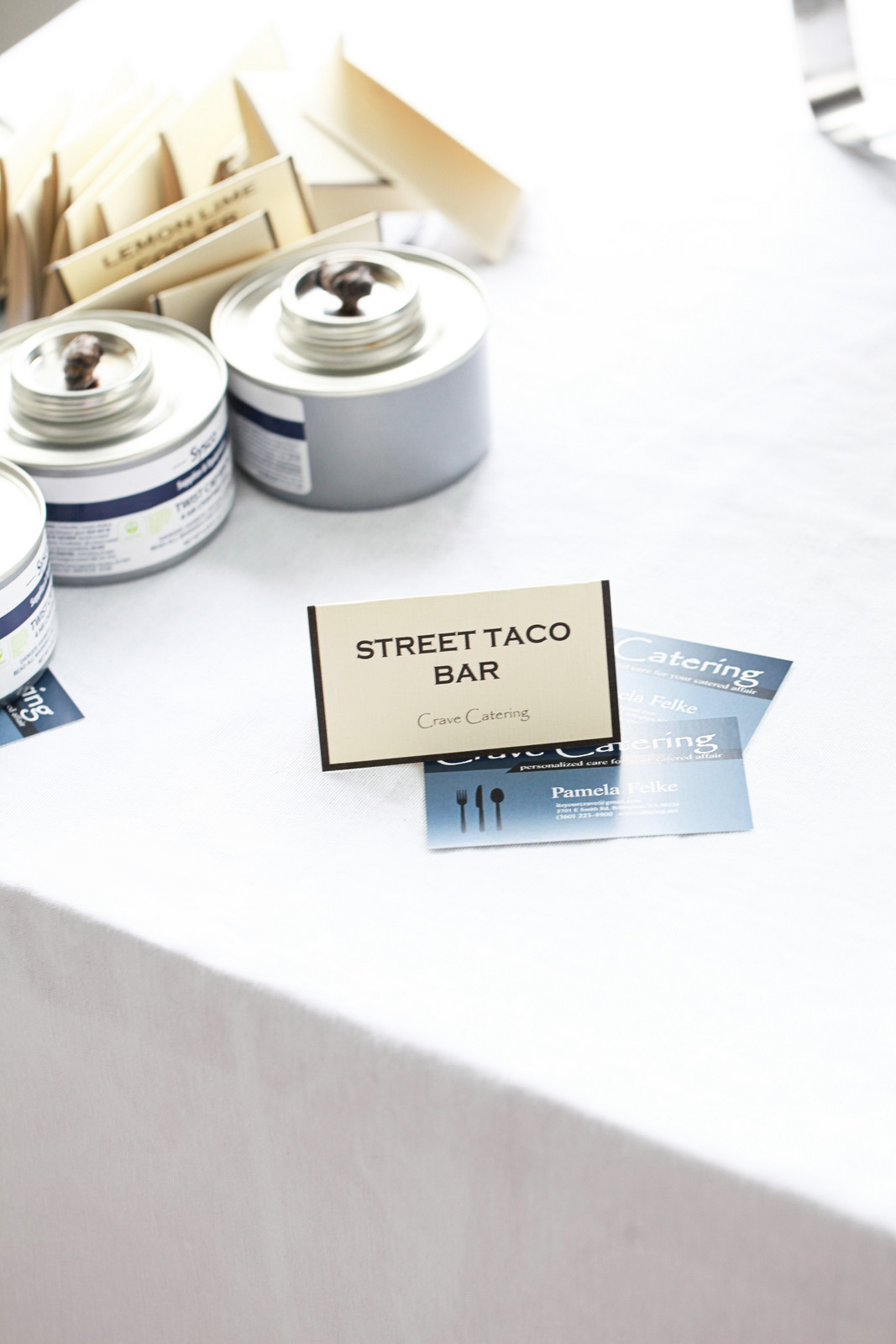 Crave Catering, Street Tacos, Party