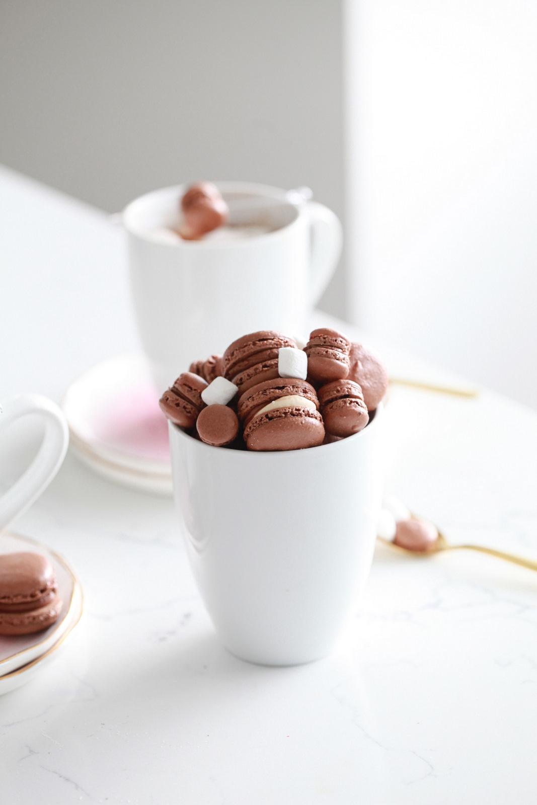 Hot Chocolate Macarons, Gluten Free, How To, Dairy Free,