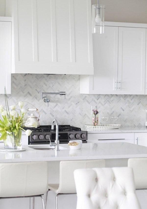 Our White Kitchen