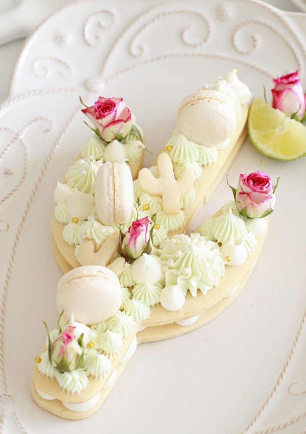 Cactus Cookie Cake DIY