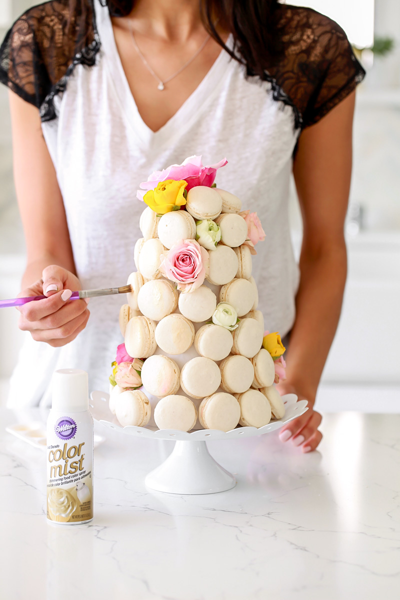 macarons_french_macaron_diy_tower_baking_weddings_party_decor_recipe