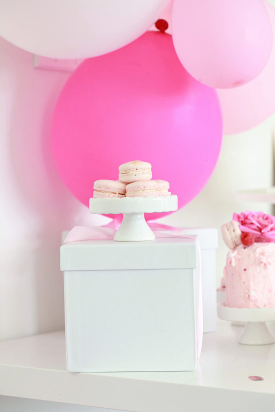 Macaron Birthday Party-Pink Parties- Children-Bottega Louis