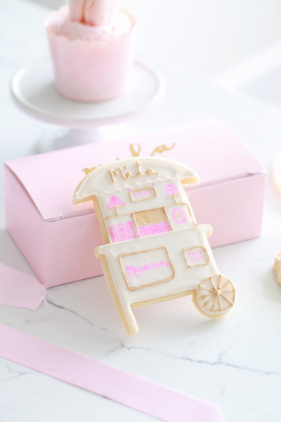 Sugar Cookies-Macaron Birthday Party-Pink Parties- Children-Bottega Louis