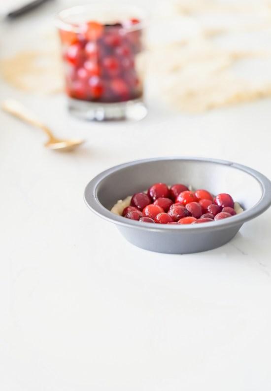 Cranberry Meringue Tart | Posh Little Design