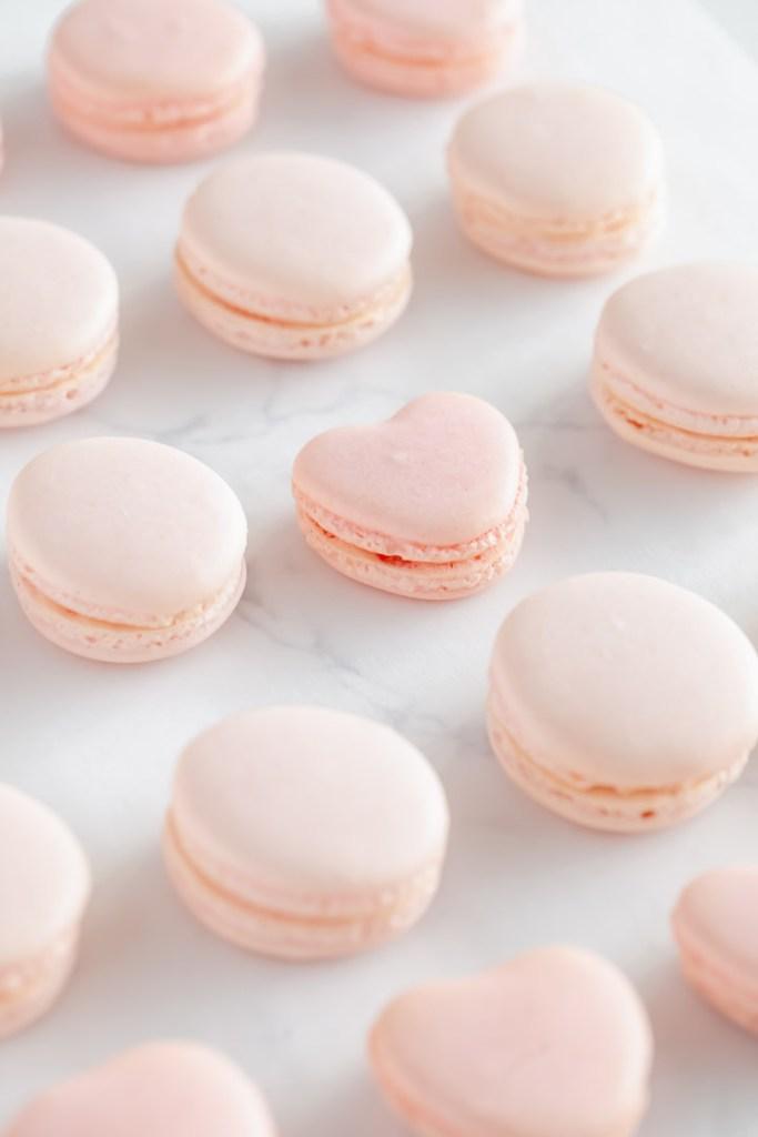 how to make French macarons - Italian method, Italian meringue, step by step recipe