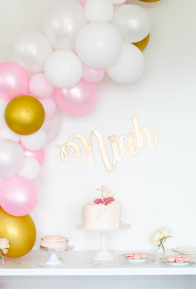 Balloon Banner | Posh Little Designs