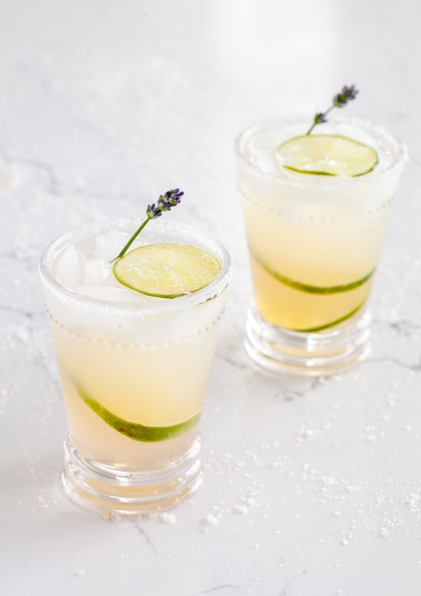 Lavender Margaritas