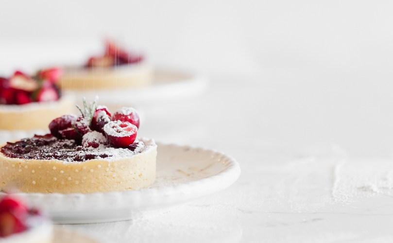 Cranberry Vanilla Tarts
