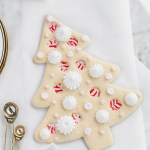 Recipe for peppermint stained glass sugar cookie - baking- holiday recipes- Christmas-baking
