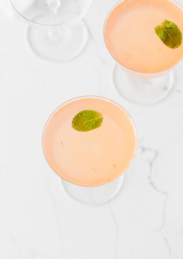 Gin & Strawberry Jam Cocktail