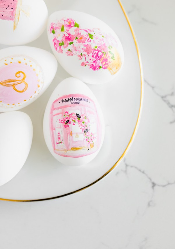 Peggy Porschen Painted Easter Eggs