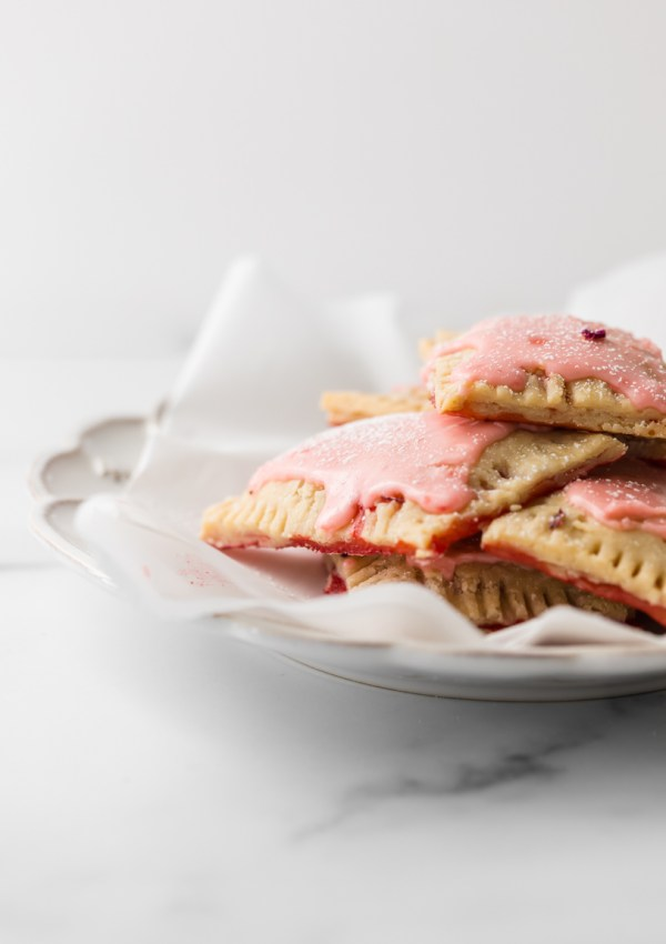 Homemade Gluten Free Strawberry Pop Tarts