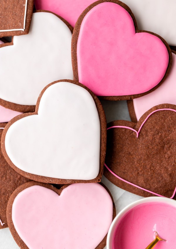 Soft Chocolate Cutout Sugar Cookies