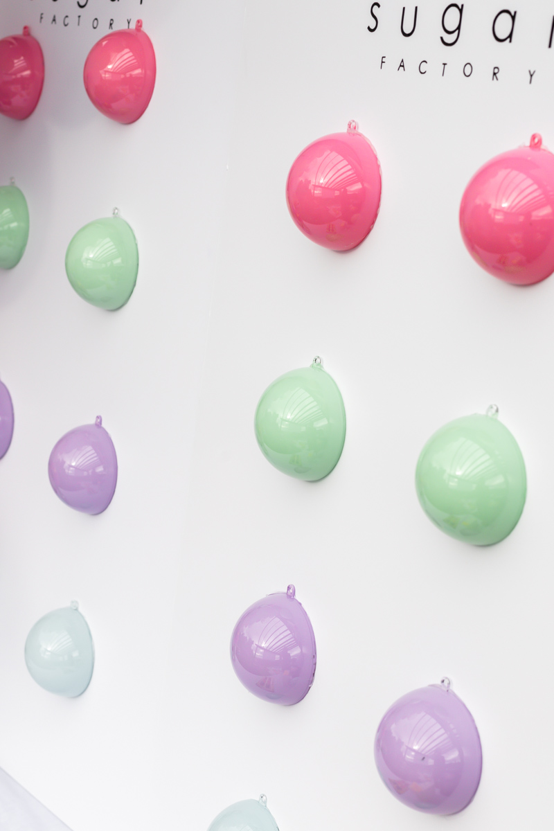 sugar factory candy button party decor by posh little designs