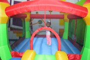 Aria in the moonbounce!