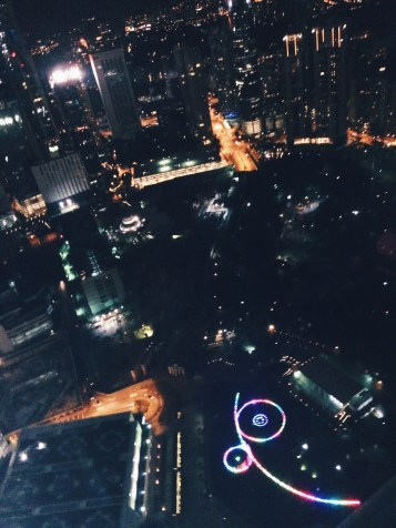 Amazing view from 57th floor