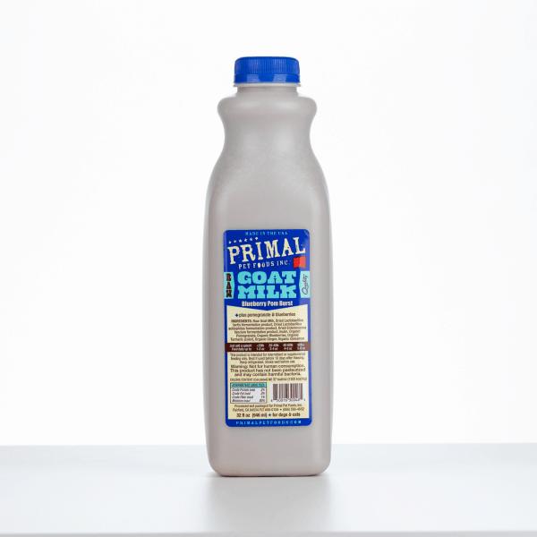 Primal Goats Milk blueberry 32 Ounce 1