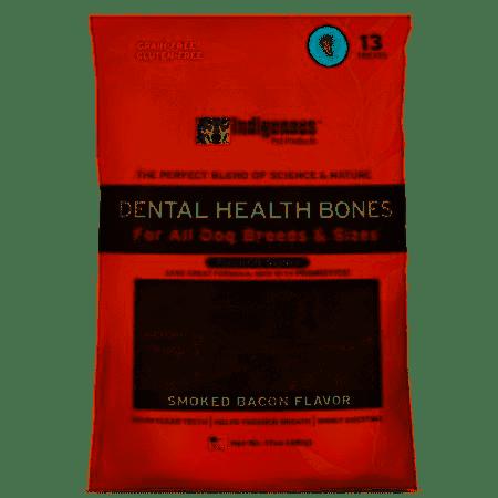 Indigenous Dental Bones Smoked Bacon Flavor 17 OZ 1