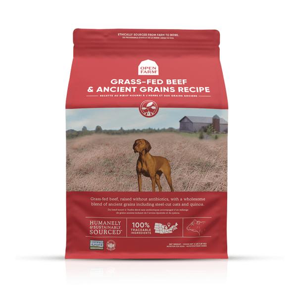 OPEN FARM DOG DRY BEEF RECIPE ANCIENT GRAIN 11# 1