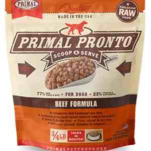 Primal 0.75lb Canine Beef Pronto Formula – TRIAL