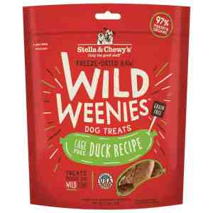 S&C Wild Weenies Cage Free Duck 3.25OZ