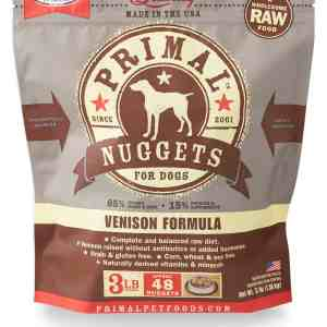 3lb Canine Venison Formula Nuggets