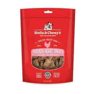 S&C Chicken Heart Freeze Dried Treat 11.5 Z