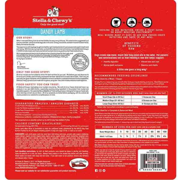Lamb Meal Mixer 3.5 Ounce-back