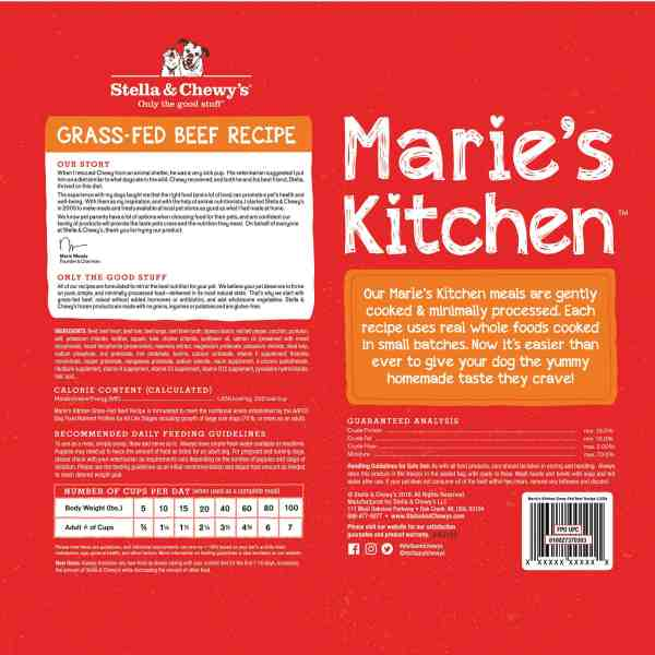 Maries Grass Fed Beef-back