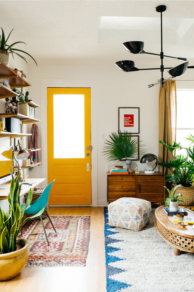 Boho Library Wall Living Room: Boho Home Decor: 11 Tips That Show You How To Pull It Off
