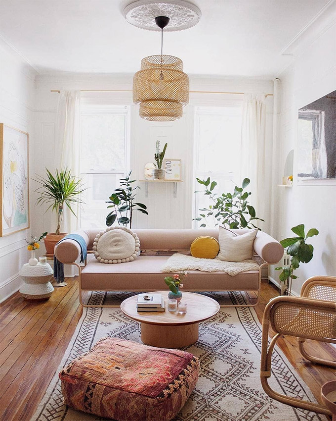 Boho Home Decor: 11 Tips That Show You How To Pull It Off ... on Modern Boho Decor  id=89018
