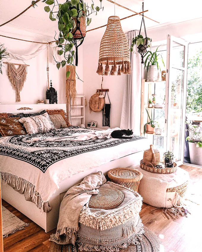 How To Create The Perfect Boho Chic Bedroom Posh Pennies
