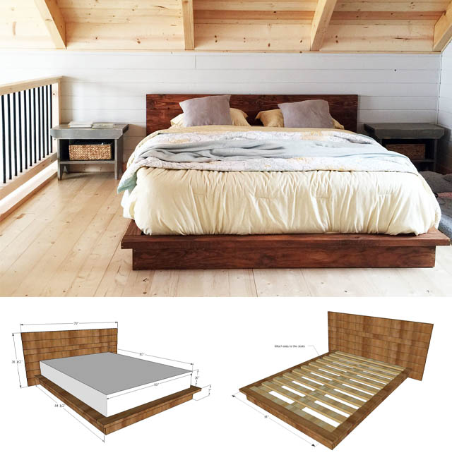 21 Awesome Diy Bed Frames You Can Totally Make Posh Pennies