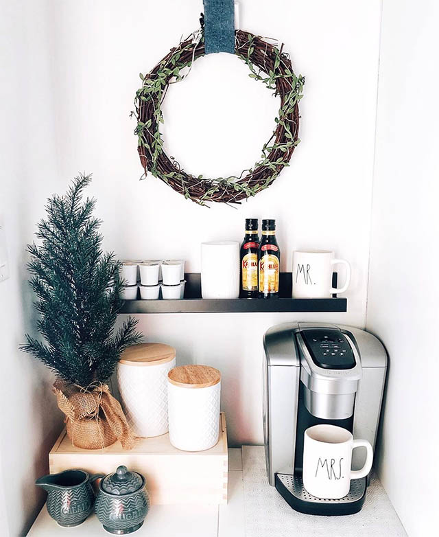 26 Home Coffee Station Ideas To Help You Quit Starbucks Posh Pennies